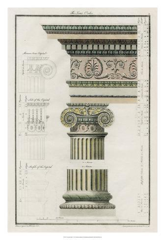 The Ionic Order Giclee Print
