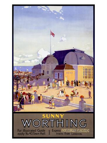 Worthing Giclee Print