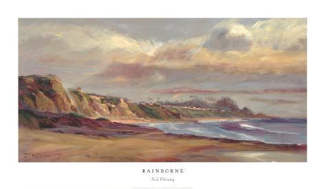 Rainborne Art Print