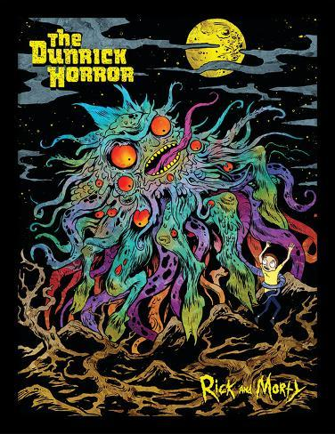 Rick & Morty - The Dunrick Horror Collector Print