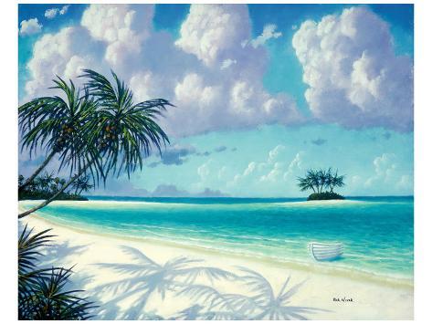 Cast Away Isle Art Print