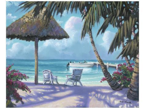 Margarita by the Tiki Art Print