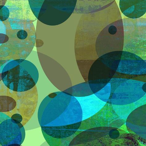 Bubble Bath I Art Print