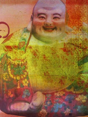 Cherry Blossom Zen Boss Art Print