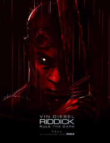 Riddick (Vin Diesel, Karl Urban, Katee Sackhoff) Movie Poster Poster