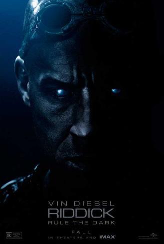 Riddick (Vin Diesel, Karl Urban, Katee Sackhoff) Movie Poster Masterprint