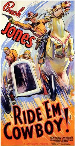 Ride 'Em Cowboy Masterprint