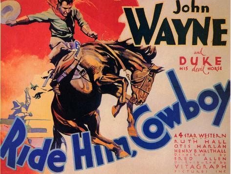 Ride Him Cowboy, 1932 Art Print
