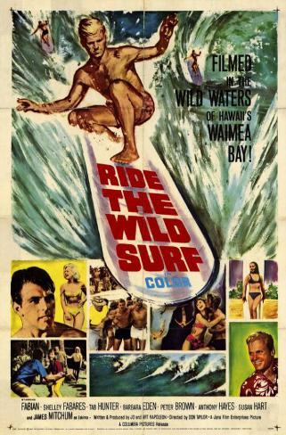 Ride The Wild Surf Masterprint