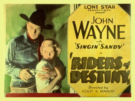 Riders of Destiny, 1934 Art Print