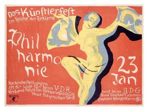 Philharmonie Giclee Print