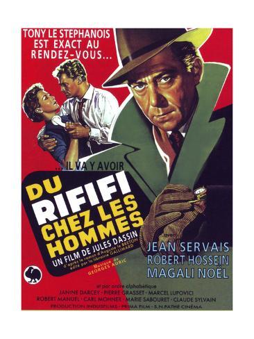 Rififi, (aka Du Rififi Chez Les Hommes), 1955 Giclee Print