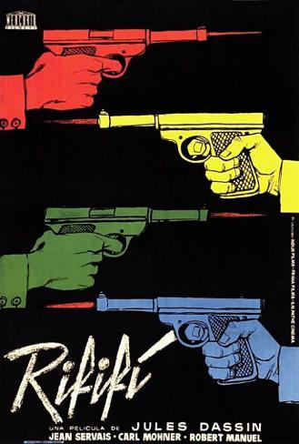 Rififi - French Style Poster