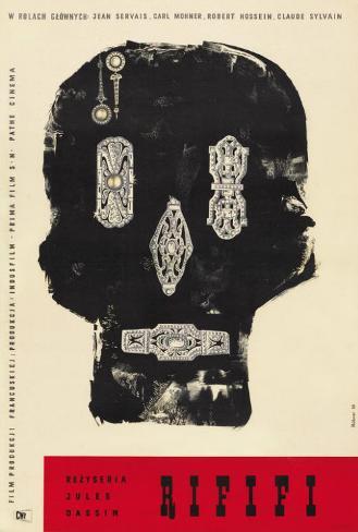 Rififi - Polish Style Poster