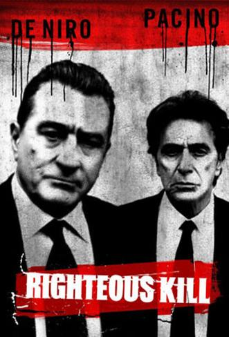 Righteous Kill Double-sided poster