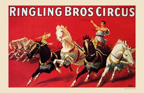 Rigling Bros Circus, 1916 Art Print