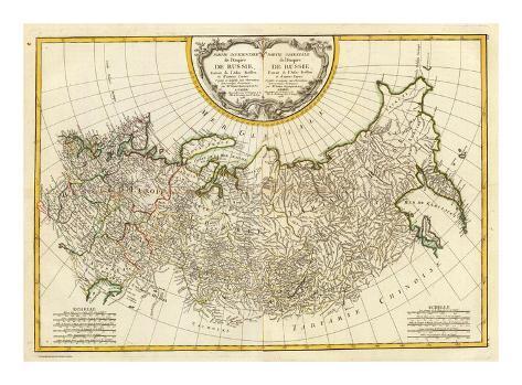 Composite: Russia, c.1785 Art Print