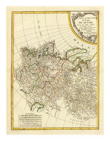 Russia Occidentale, c.1785 Art Print