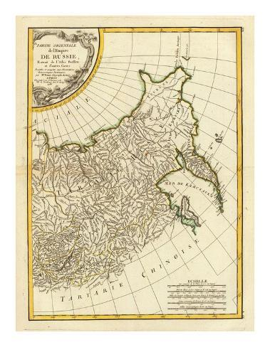 Russia Orientale, c.1785 Art Print