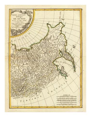 Russia Orientale, c.1785 Framed Giclee Print