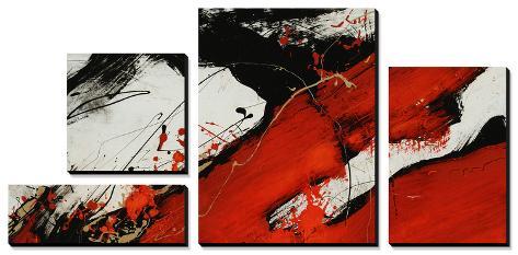 Ruby II Canvas Art Set