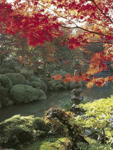 Rinno-Ji, Nikko, Japan Lámina fotográfica