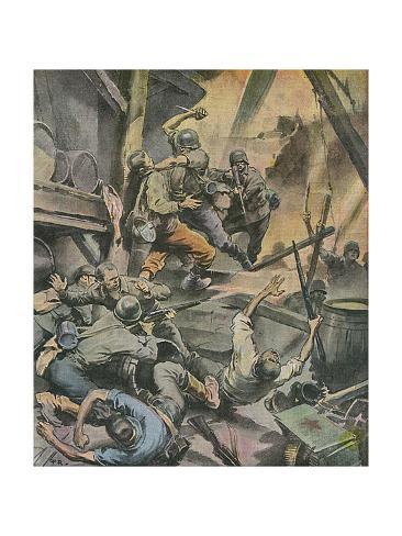 Stalingrad Battle Giclee Print