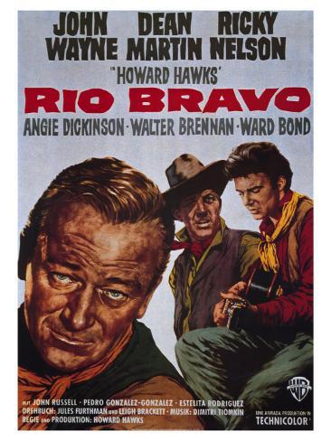 Rio Bravo, 1959 Art Print