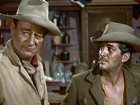 Rio Bravo, John Wayne, Dean Martin, 1959 Foto