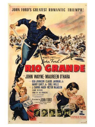 Rio Grande, 1950 Art Print