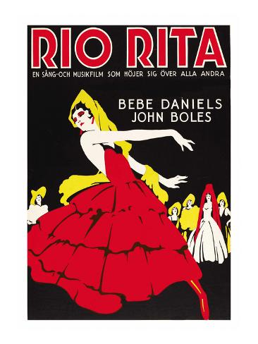 Rio Rita Art Print