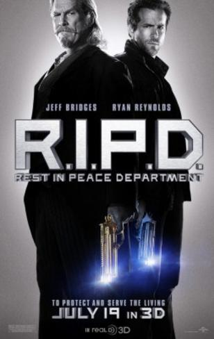 RIPD Movie Poster Poster double face