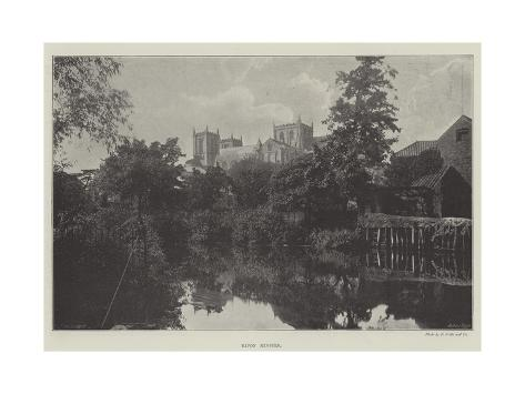 Ripon Minster Giclee Print