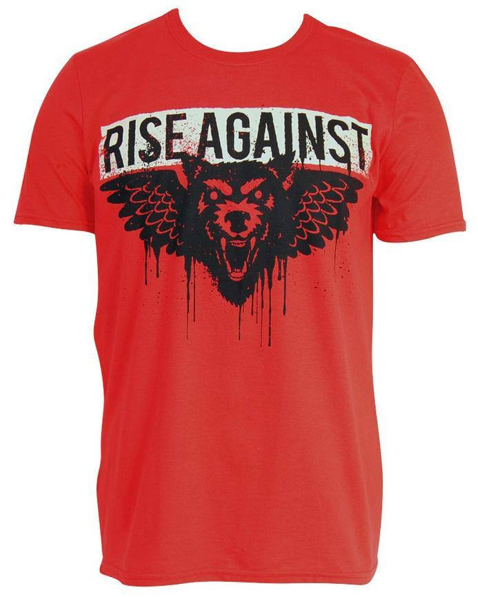 Rise Against Wolf Wings T Shirts At Allposterscom