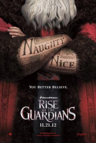 Rise of the Guardians (Hugh Jackman, Jude Law, Alec Baldwin) Movie Poster Double-sided poster