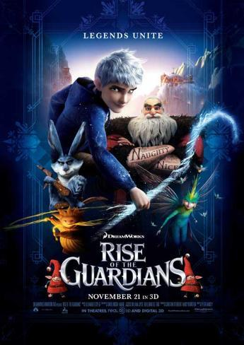 Rise of the Guardians マスタープリント