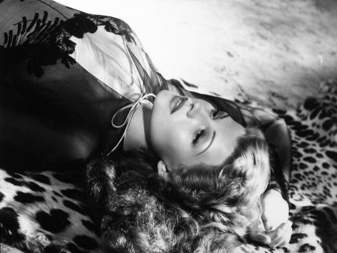 Rita Hayworth, 1942 Fotoprint