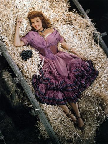 Rita Hayworth, The Loves of Carmen, 1948 Photographic Print