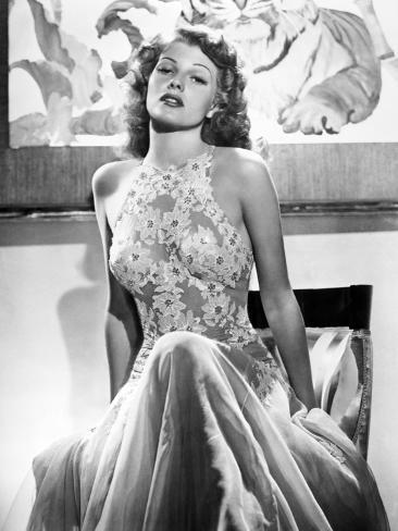 Rita Hayworth Premium Photographic Print