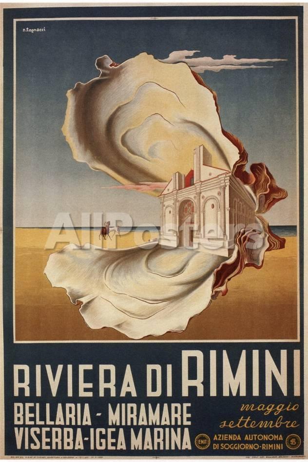 Riviera Rimini Giclee Print - AllPosters.co.uk