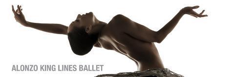Alonzo King Lines Ballet Dancer: Caroline Rocher Stretched Canvas Print