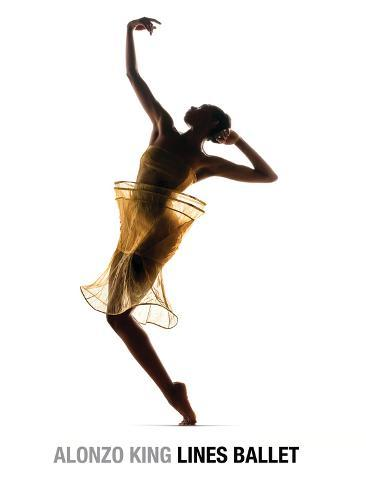 Alonzo King Lines Ballet Dancer: Courtney Henry Stretched Canvas Print