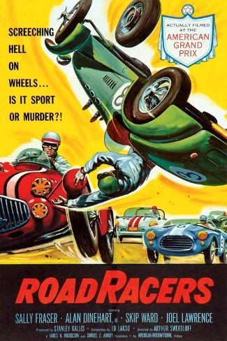 Roadracers, 1959 Art Print