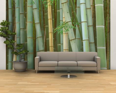 Bamboo forest kyoto japan wall mural large by rob for Bamboo forest wall mural