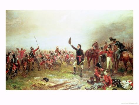 The Battle of Waterloo, 18th June 1815 Lámina giclée