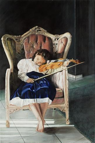 The Recital, 2009 Giclee Print