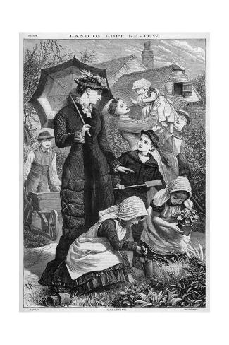 Family of Gardeners Giclee Print