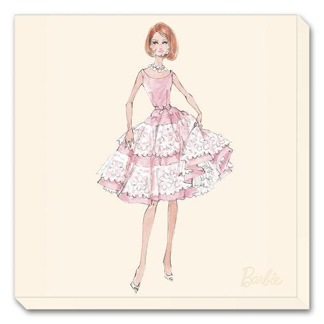 Barbie™, Southern Charm Stretched Canvas Print