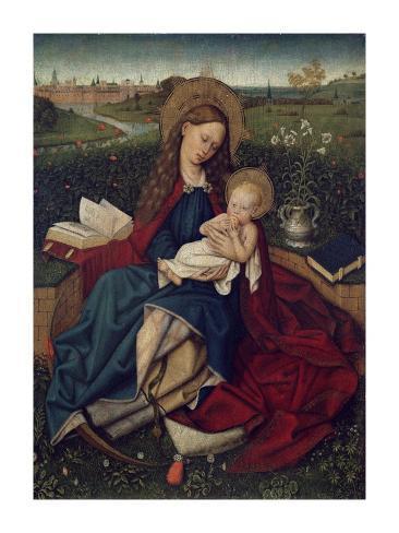 The Madonna of Humility Lámina