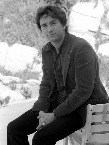 Robert De Niro, Cannes Film Festival, May 1976 Fotoprint